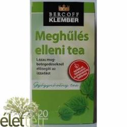 Klember Meghűlés Elleni Tea 20 Filter