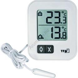 TFA 30.1043. 02 digitális külső-belső hőmérő