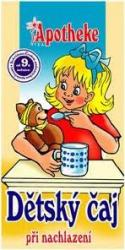 Apotheke Bio Anti-cold Herbal Tea Gyermekeknek 20 Filter
