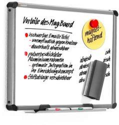 MagBoard Basic mágneses fehér falitábla 60x90 cm