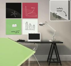 Officeboard Mágneses üvegtábla 45x45 cm