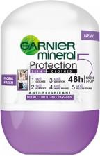 Garnier Mineral Protection 5 - Soft Clean (Roll-on) 50ml