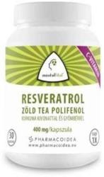 MentalFitol Resveratrol zöld tea kapszula - 30 db