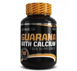 BioTechUSA Guarana with calcium - 60db