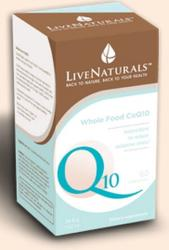 LiveNaturals CoQ10 - 60db