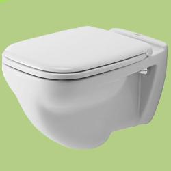 Duravit D-code Laposöblítésű Fali WC (221009)
