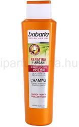 Babaria Argan sampon a hajszín megóvására keratinnal és argánnal (Shampoo Keratin Colour Protector) 400ml