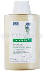 Klorane Centaurée sampon szőke és ősz hajra (Shampoo with Centaury) 200ml