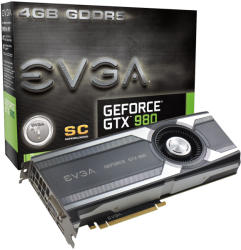 EVGA GeForce GTX 980 Superclocked 4GB GDDR5 256bit PCIe (04G-P4-1982-KR)