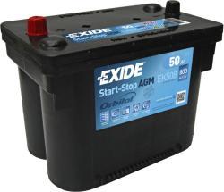 Exide Maxxima 12V 50Ah 800A bal (EK508)
