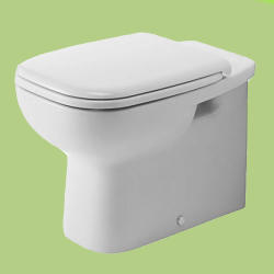 Duravit D-code Falra Tolható Mély Öblítésű WC (211509)