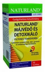 Naturland Májvédő És Detoxikáló Teakeverék 25 Filter