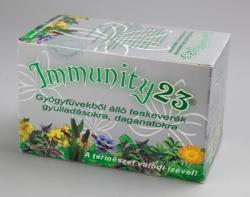 Immunity 23 Gyógynövény Teakeverék 20 Filter