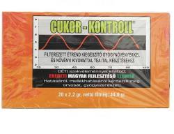 Cukor Kontroll Tea 20 Filter