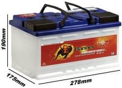 Banner Energy Bull 80Ah 60A Jobb+
