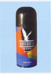 America Colours for Men (Deo spray) 150ml