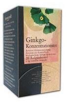 SONNENTOR Ginkgo Koncentráló Tea 20 Filter