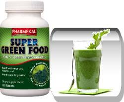 Pharmekal Super Green Food - 180db