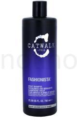 TIGI Catwalk Fashionista Violet sampon szőke hajra 750ml