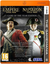 SEGA Empire + Napoleon Total War [Game of the Year Edition-The Gamemania] (PC)