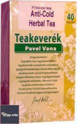 Pavel Vana Anti-Cold Herbal Tea Gyermekeknek 20 Filter