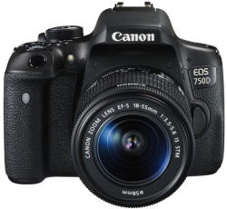 Canon EOS 750D + 18-55mm IS STM (0592C025AA)