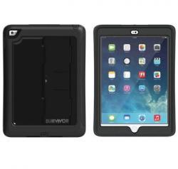 Griffin Survivor Slim for iPad Air 2 - Black/Black (GB40366)