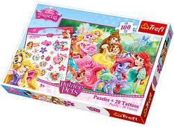 Trefl Disney Hercegnők: A palota kedvencei 100 db-os (90502)