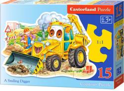 Castorland Mosolygó markológép 15 db-os sziluett puzzle (B-015047)