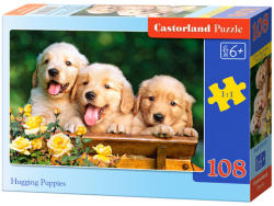 Castorland Golden retriever kölykök 108 db-os (B-010127)