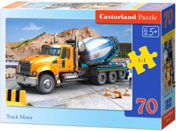 Castorland Amerikai betonkeverő autó 70 db-os (B-007110)
