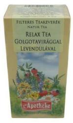 Apotheke Relax Tea Golgotavirág Levendula 20 Filter
