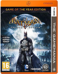 Eidos Batman Arkham Asylum [Game of The Year Edition-The Gamemania] (PC)