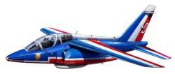 Revell Alpha Jet Patrouille de France Set 1/144 64014