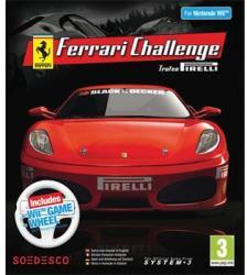 System 3 Ferrari Challenge Trofeo Pirelli [Wheel Bundle] (Wii)