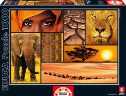 Educa Afrika színei 1000 db-os (16293)