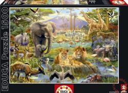 Educa Afrikai itatónál 1500 db-os (16303)