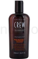 American Crew Trichology megújító sampon a sűrű hajért (Hair Recovery + Thickening Shampoo) 250ml
