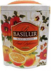 BASILUR Blood Orange Vérnarancs Tea 100g