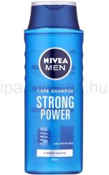 Nivea For Men Strong Power férfi sampon 400ml