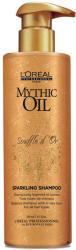L'Oréal Mythic Oil Souffle d´Or tápláló sampon a fénylő és selymes hajért (Sparkling Shampoo) 250ml