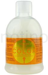 Kallos KJMN sampon a festett és érzékeny hajra UV szűrővel (Color Shampoo wtih UV Filter) 1000ml