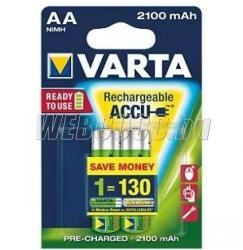 VARTA Rechargeable Accu AA 2100mAh (2)
