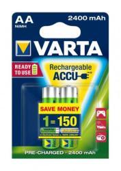 VARTA Rechargeable Accu AA 2400mAh (2)