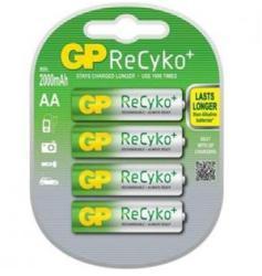 GP Batteries AA ReCyko 2100mAh (4) GP-BR-R6-2100-RECY-4PK