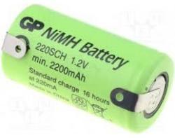GP Batteries SC 1.2V 2200mAh (1) GP-BR-SC-2200