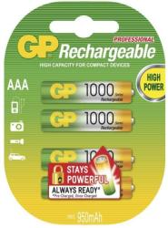 GP Batteries AAA 1000mAh (4)