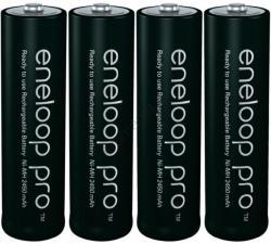 Panasonic AA eneloop pro 2450mAh (4) BK-3HCCE/4BE