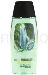 Avon Senses Amazon Jungle sampon és tusfürdő gél 2in1 uraknak (Hair & Body Wash For Men) 250ml
