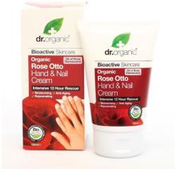 Dr. Organic Bio rózsa kéz és körömápoló krém 125ml